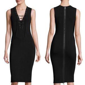 Anthropologie John + Jenn Paris Lace Up Dress